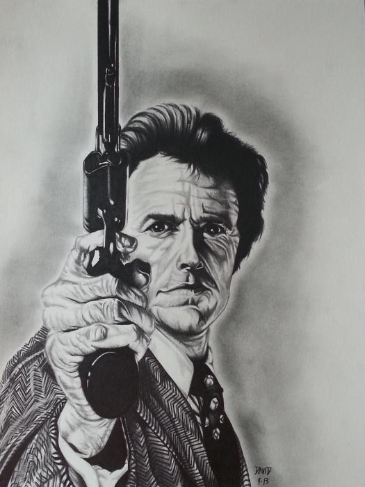 Clint Eastwood by Callahan